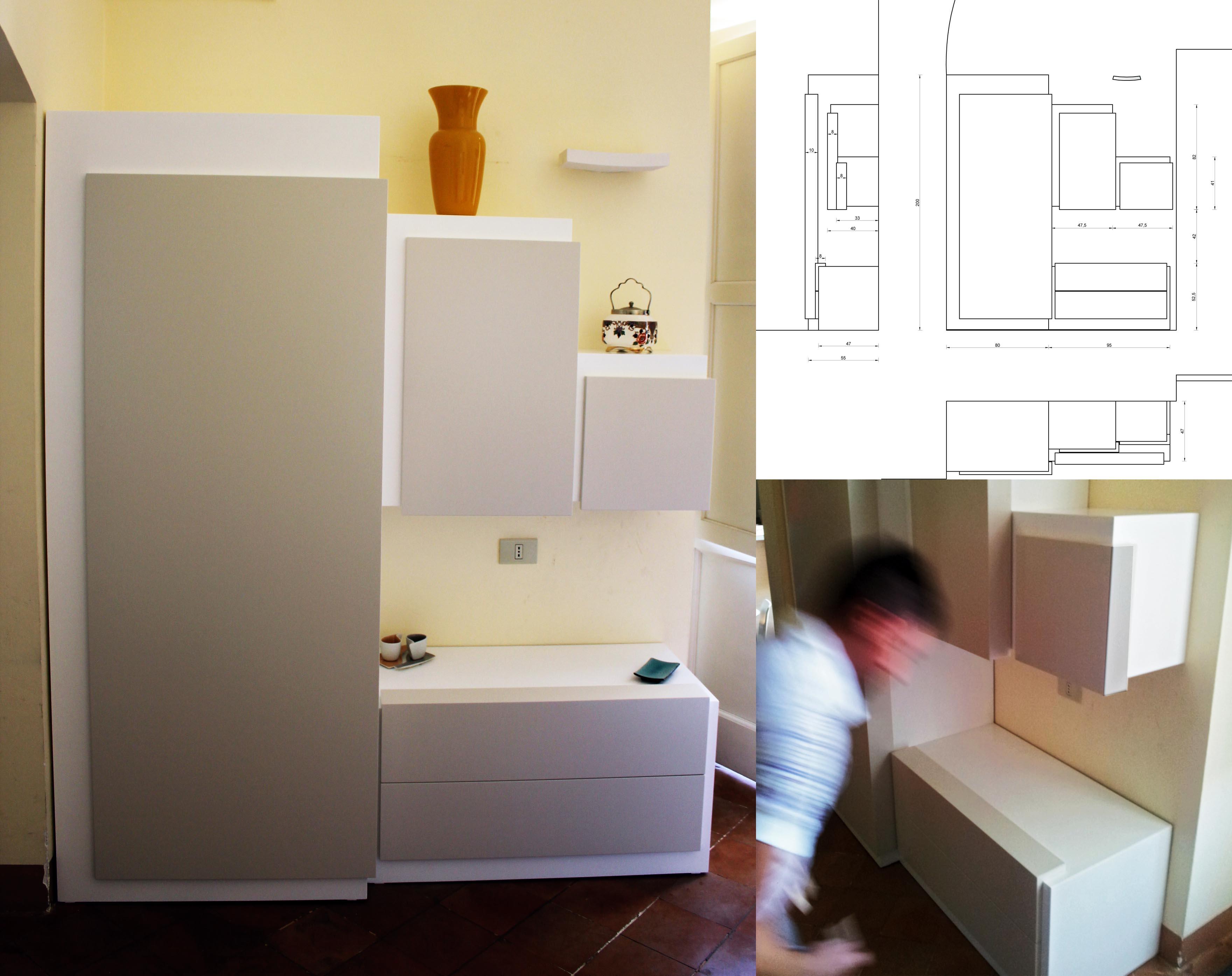 Soggiorno Bianco E Tortora ~ Idee per il design della casa